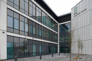 Ravensby Glass project Spire Hospital Manchester