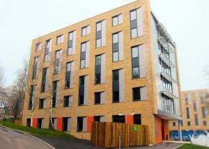 Winchester University Student Village Building