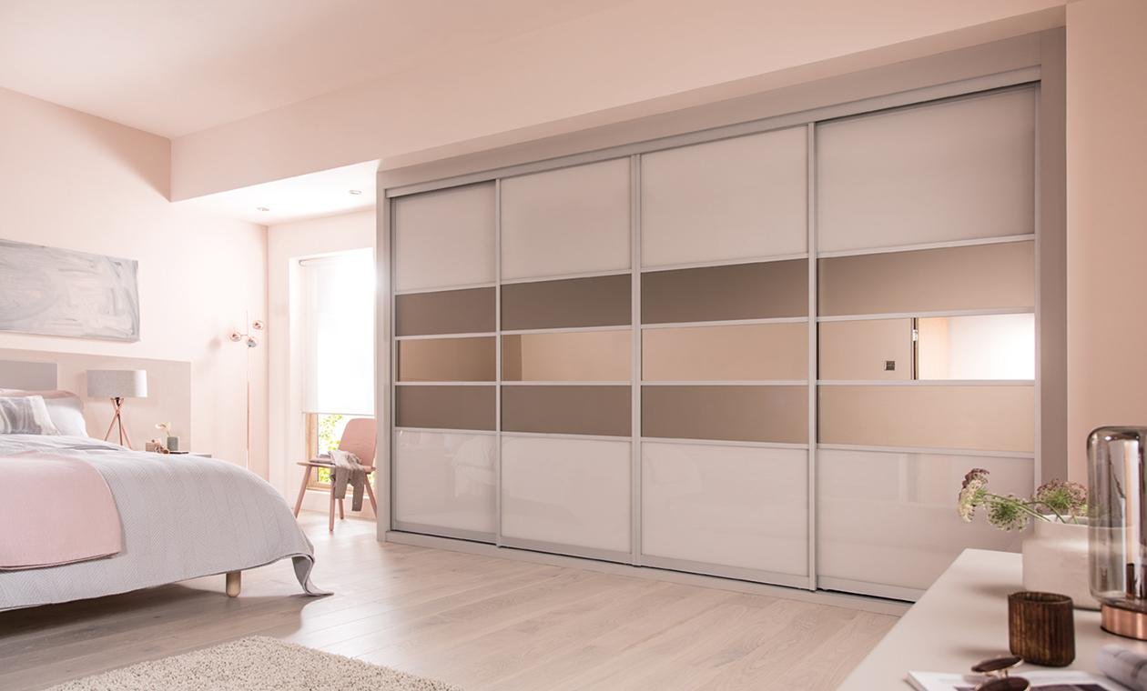 mesmerizing bedroom wardrobe designs | Colourlite - Ravensby Glass | Dundee